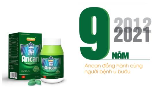 """Nhãn hàng Ancan - 9 năm gặt """"trái ngọt"""""""