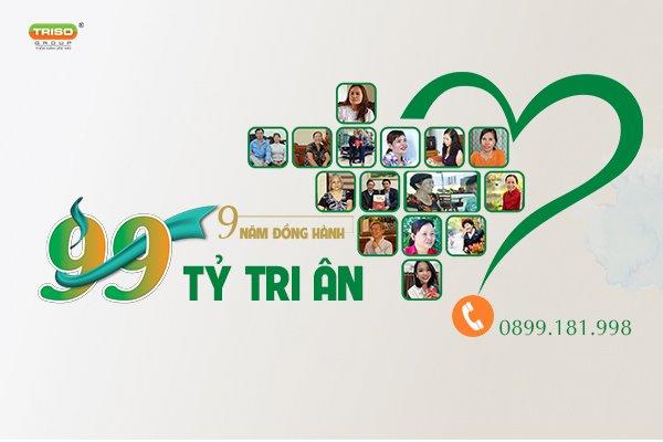 Triso Group: 9 năm đồng hành - 99 tỷ tri ân