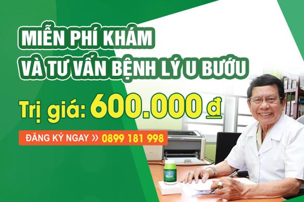 Miễn phí khám và tư vấn sức khỏe cho người người bệnh u bướu tại Hà Nội